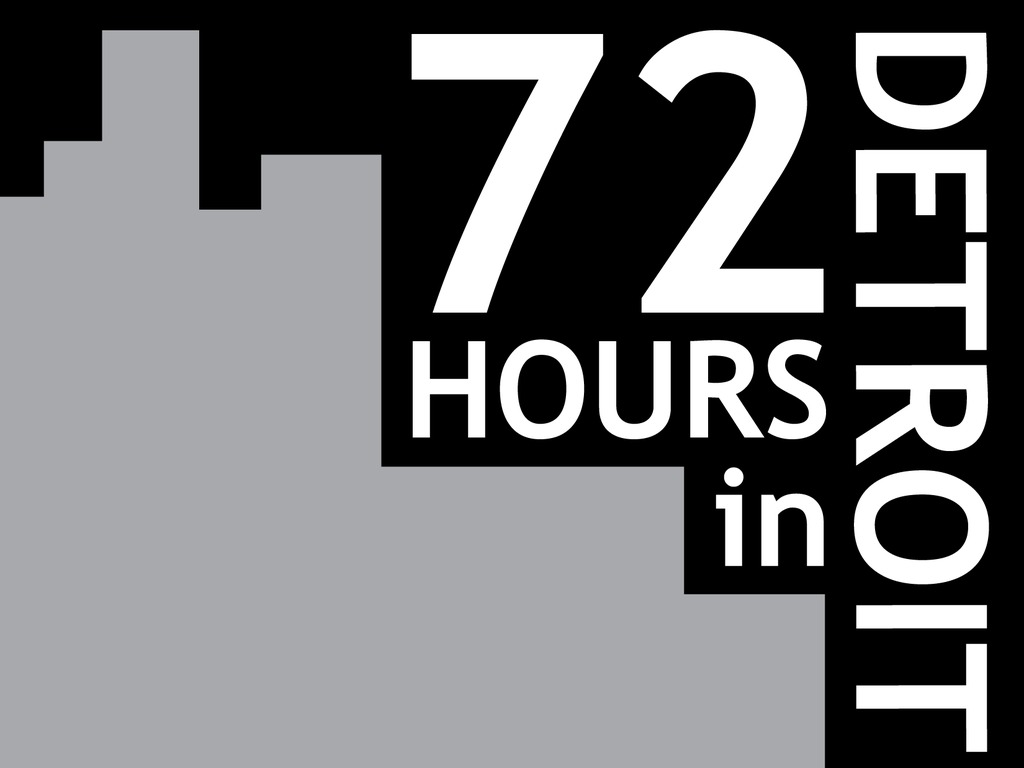 72 Hours in Detroit's video poster