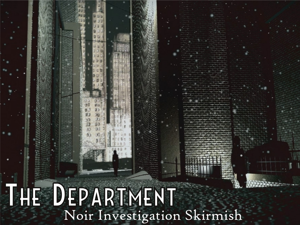 The Department: Sci-Fi Noir Tabletop Wargame/RPG's video poster