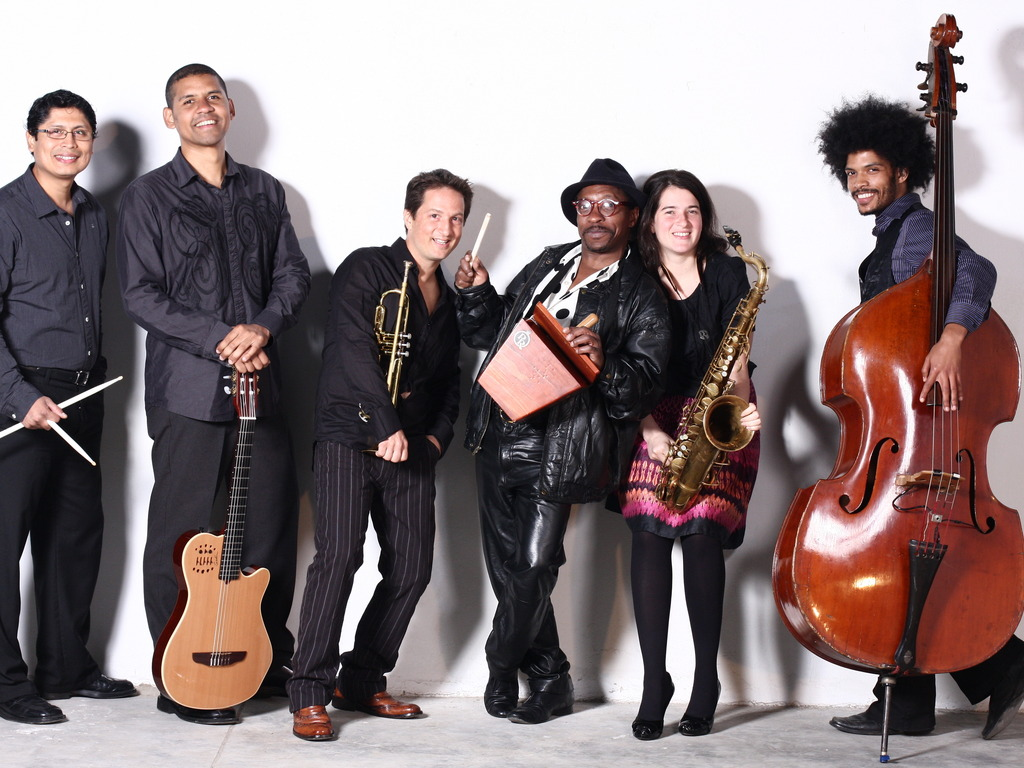 The Afro-Peruvian Sextet launches its music to the world...'s video poster