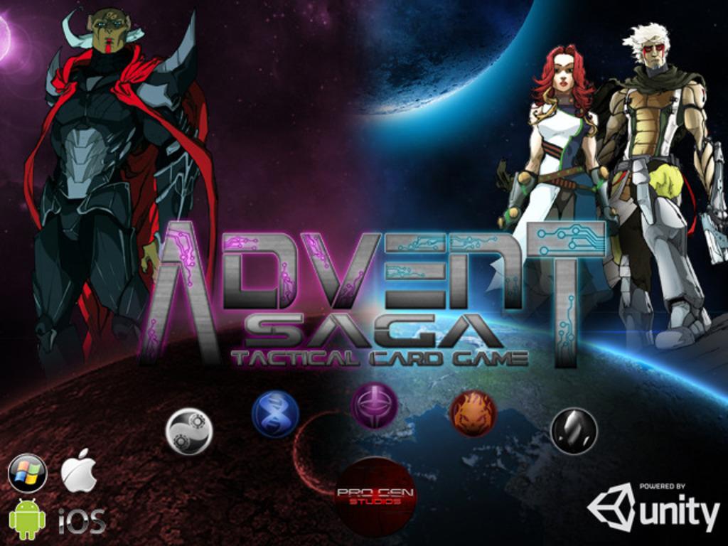 ADVENT SAGA, DIGITAL TACTICAL CARD GAME's video poster