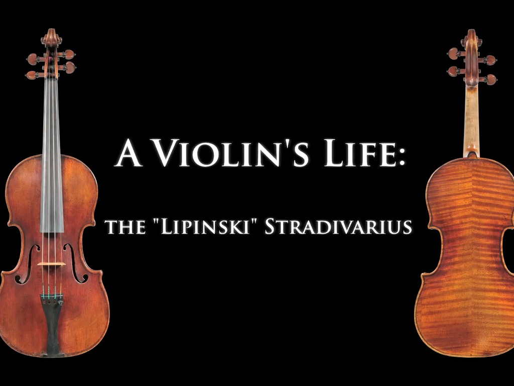 "A Violin's Life: The ""Lipinski"" Stradivarius's video poster"