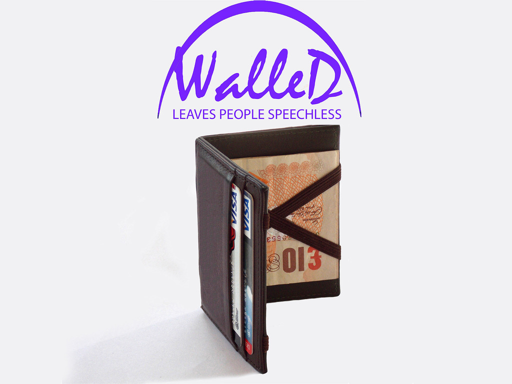 WalleD - Elegant, Classy & Innovative Leather Wallet's video poster