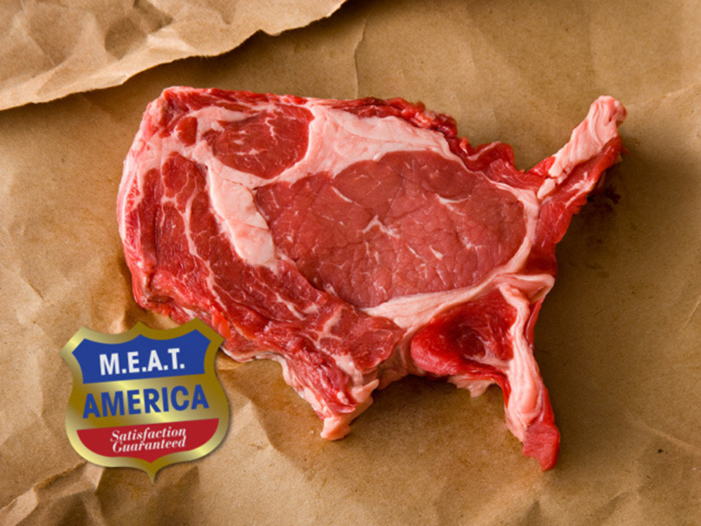 Meat America's video poster