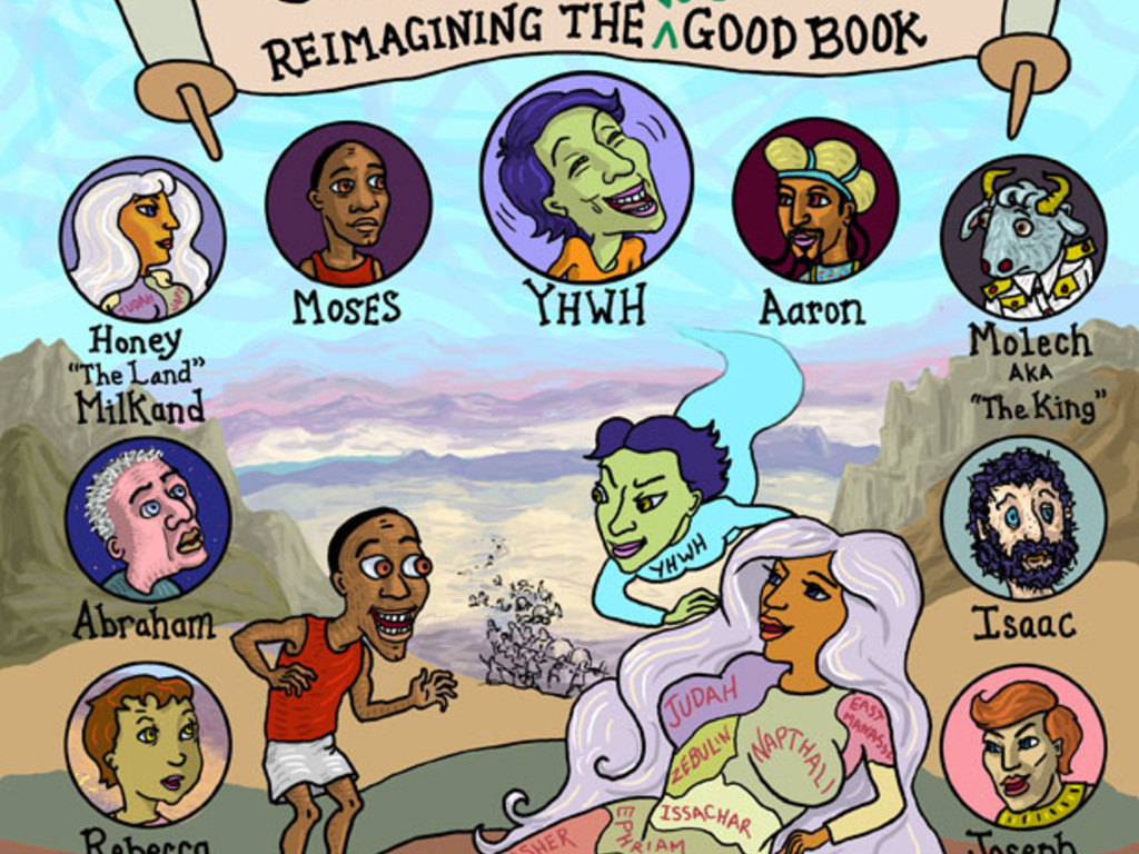 The Comic Torah: The Book's video poster