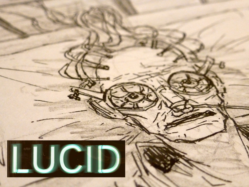 LUCID: A new gritty sci-fi comic's video poster