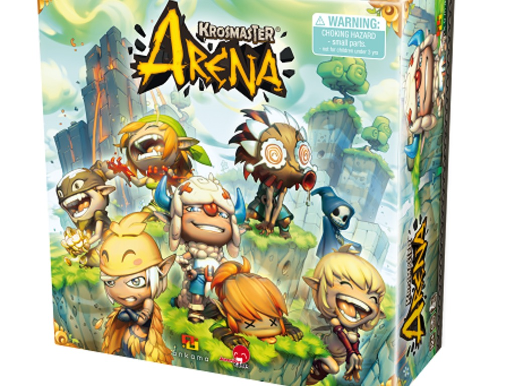 Krosmaster Arena Anime Miniatures Board Game's video poster