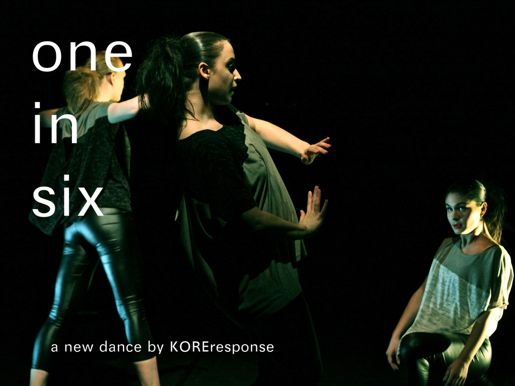 one in six: a new dance by KOREresponse's video poster
