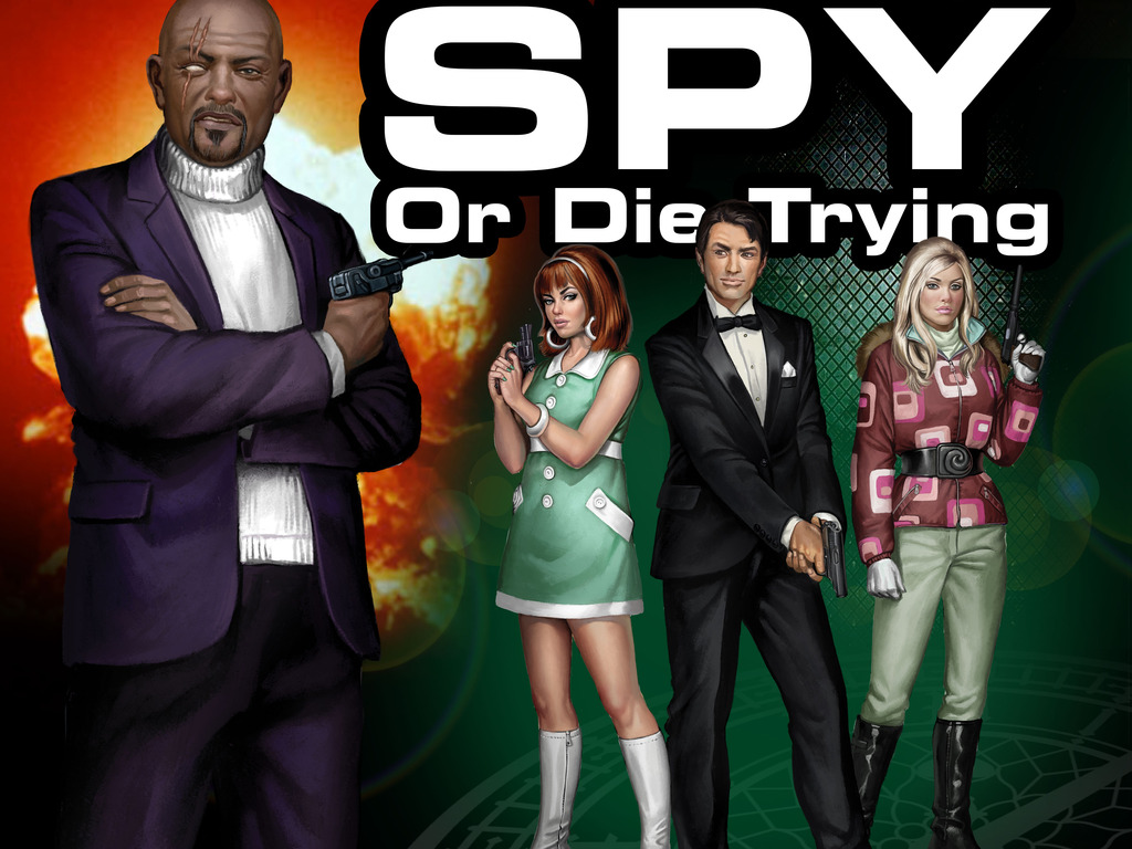 Spy or Die Trying's video poster
