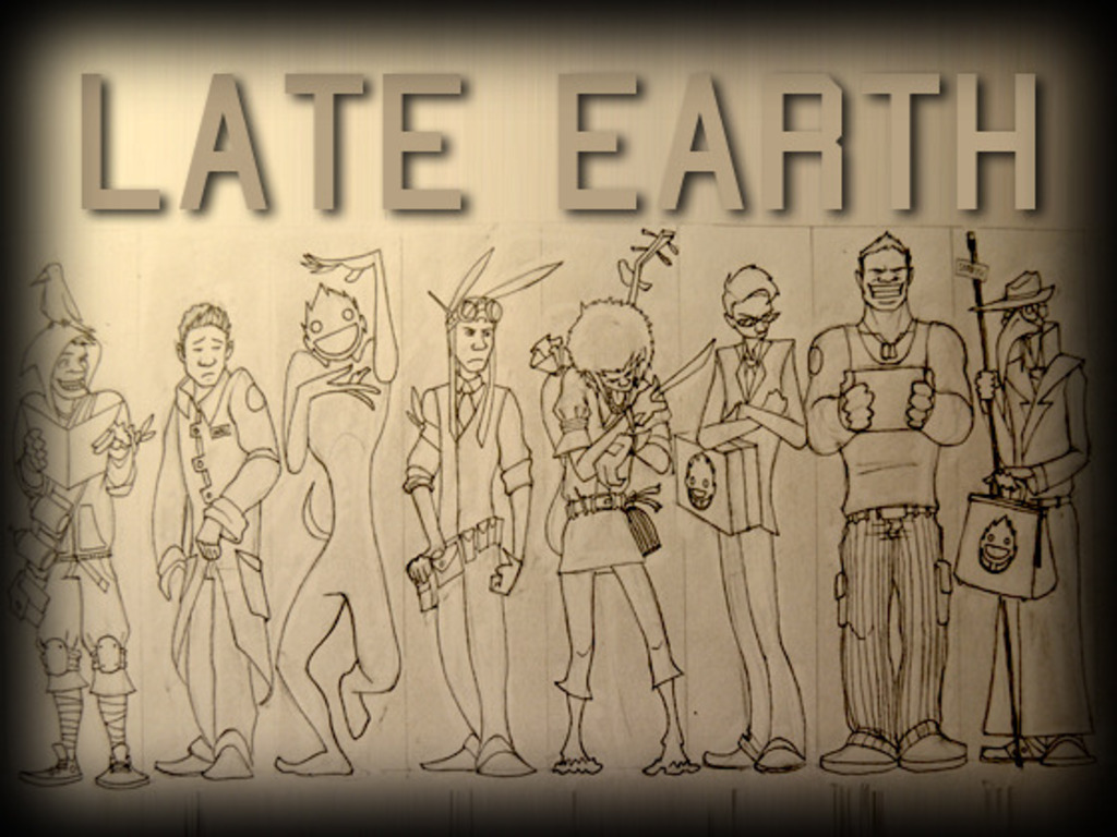 Late Earth: Comic, album, and one big gesture.'s video poster