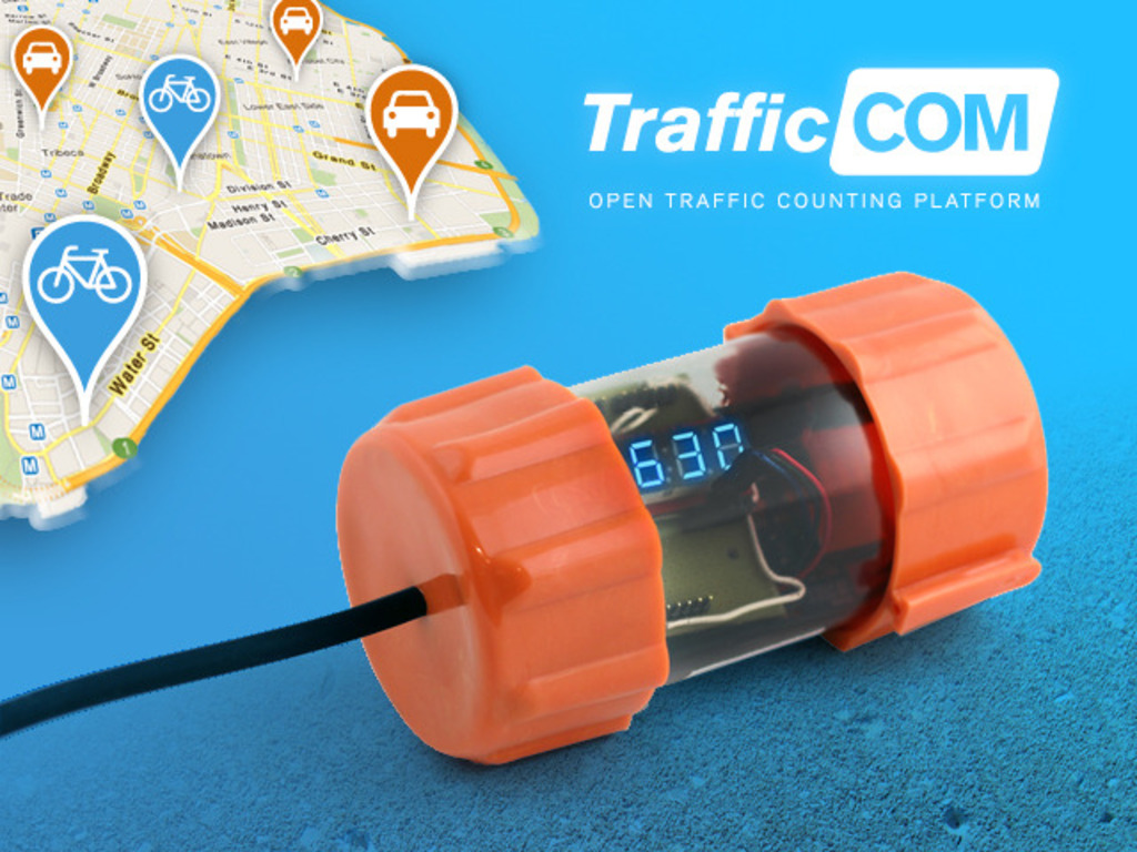 TrafficCOM's video poster