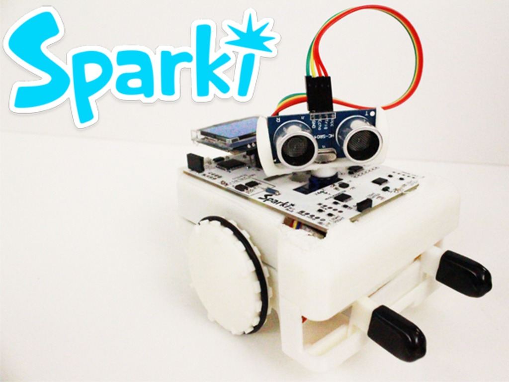 Sparki - The Easy Robot for Everyone!'s video poster