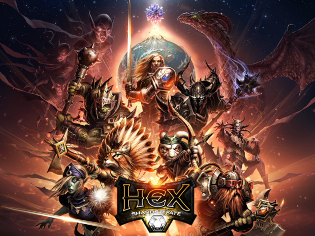 HEX MMO Trading Card Game's video poster