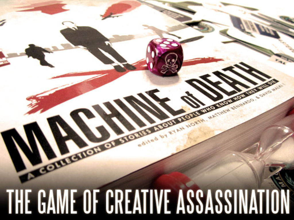 Machine of Death: The Game of Creative Assassination's video poster