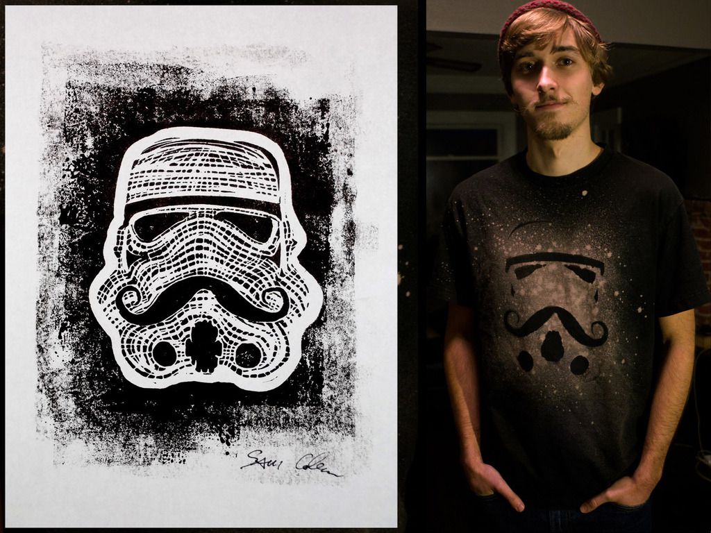 Star Wars and Mustaches T-Shirt & Blockprints's video poster