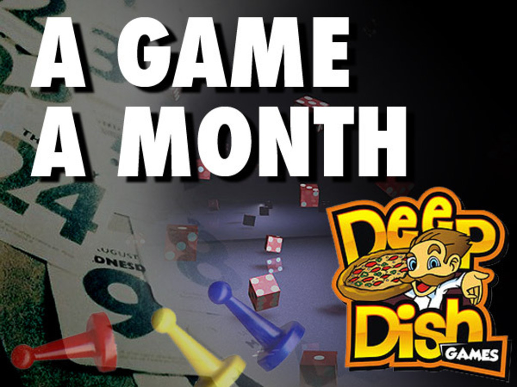 A Game A Month's video poster