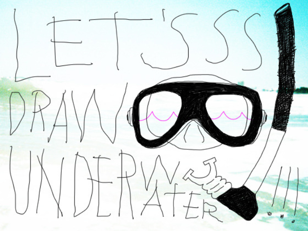Let's Draw Underwater!!!'s video poster