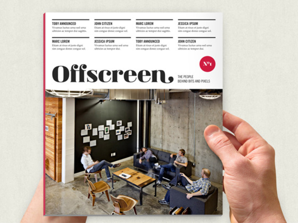 Offscreen Magazine's video poster