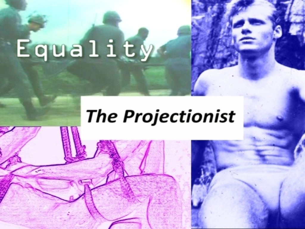 The Projectionist - a Queer Film Action from Jerry Tartaglia's video poster