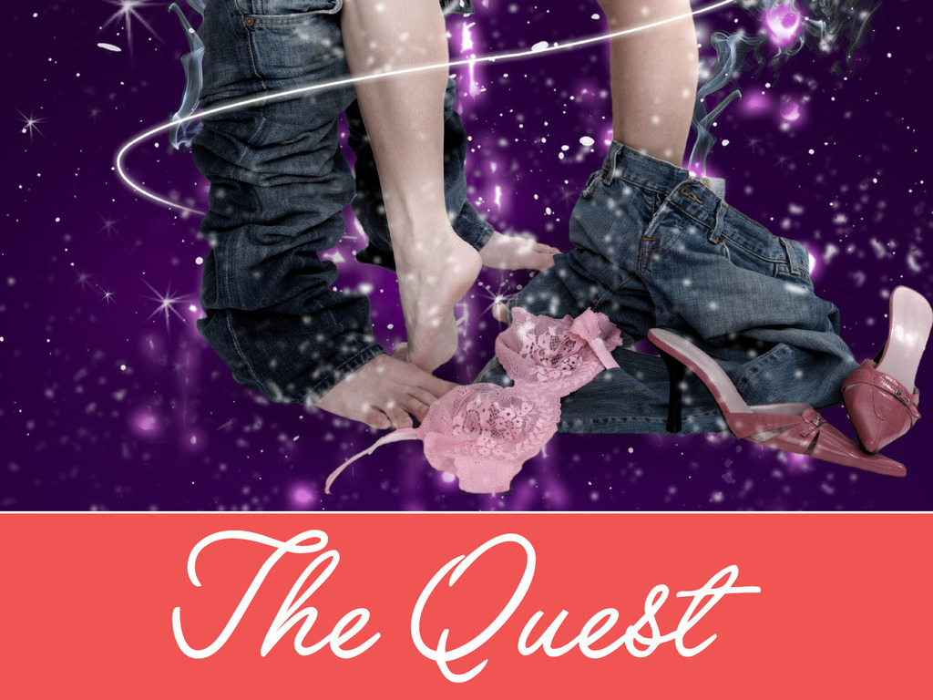 """""""The Quest"""" - Pre-Production Packaging of an Indie Feature's video poster"""