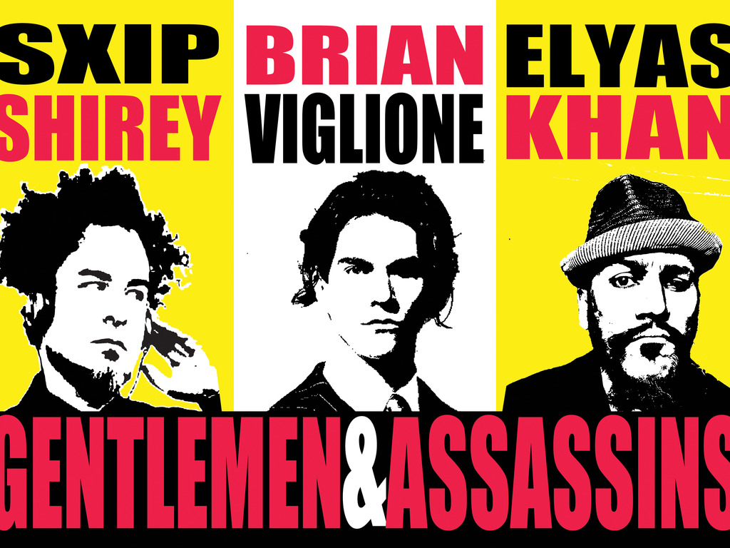 Shirey-Viglione-Khan are Gentlemen and Assassins -The EP!'s video poster