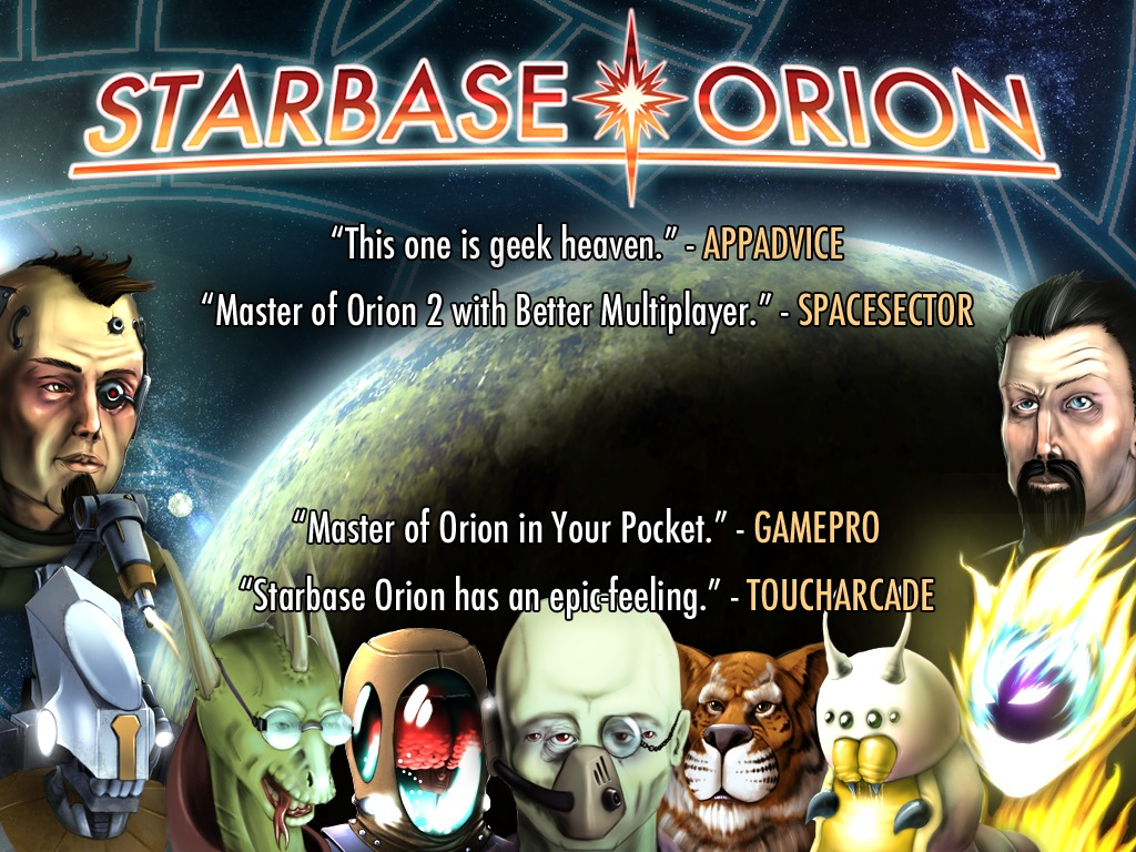 STARBASE ORION: Now Colonizing Android + PC + Mac!'s video poster