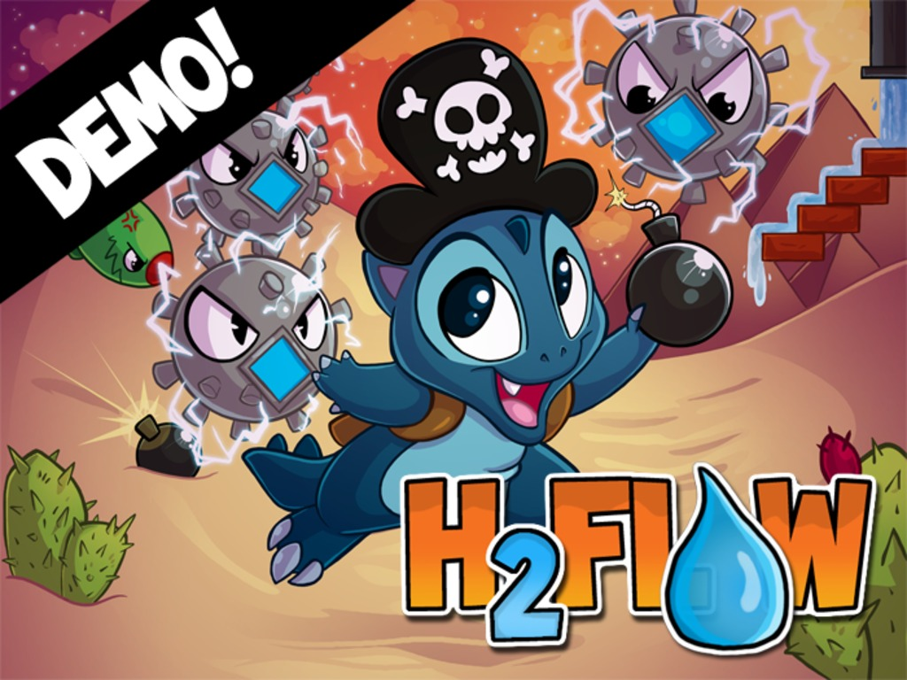 H2FLOW - A Water Physics Puzzler!'s video poster
