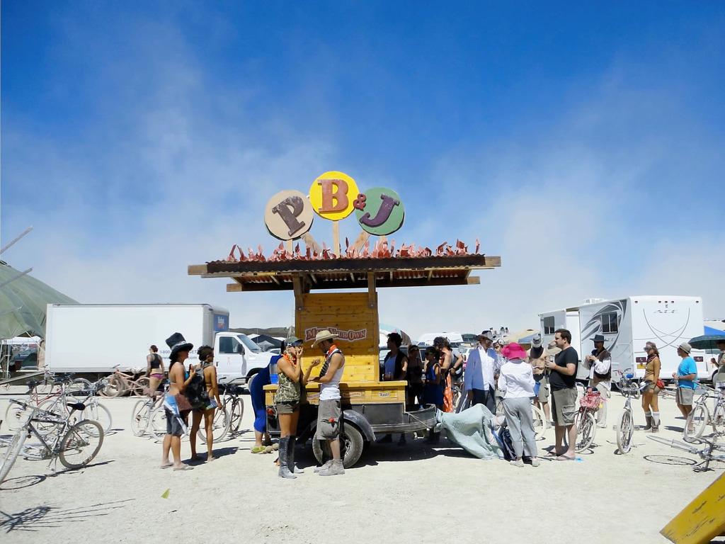 PB&J Cart (for Burning Man 2012)'s video poster