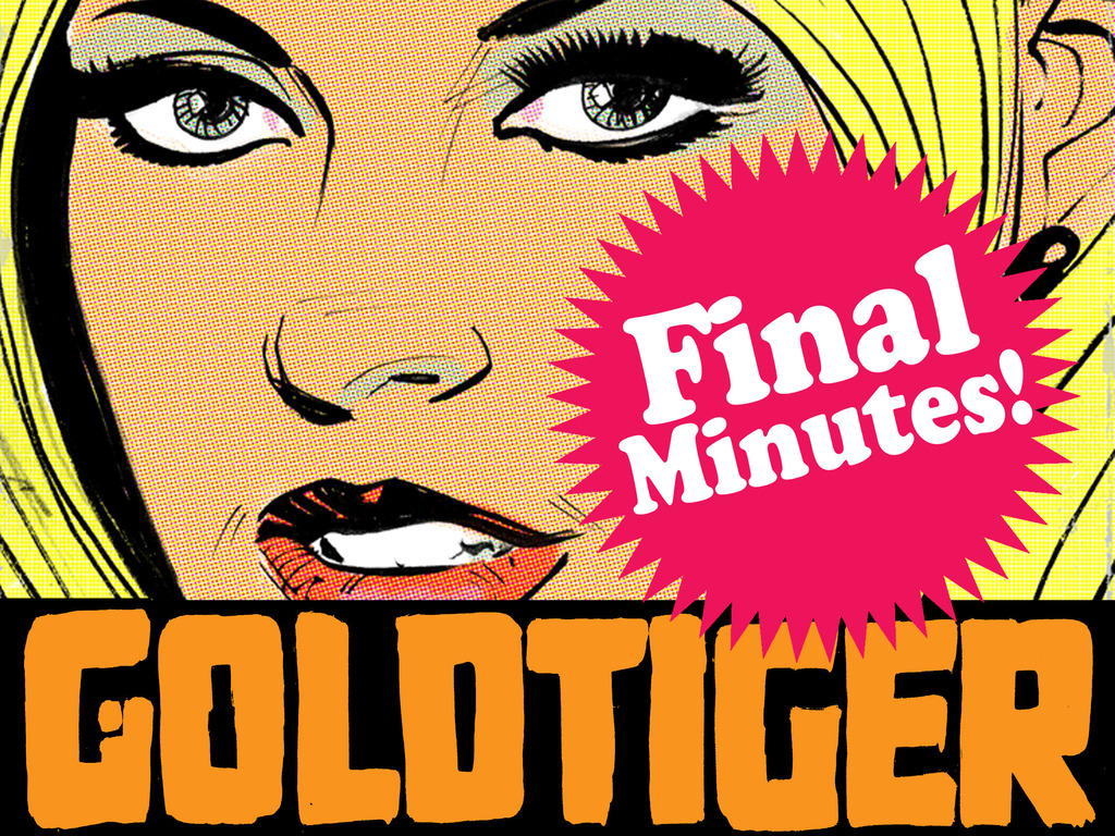 GOLDTIGER by Guy Adams and Jimmy Broxton's video poster