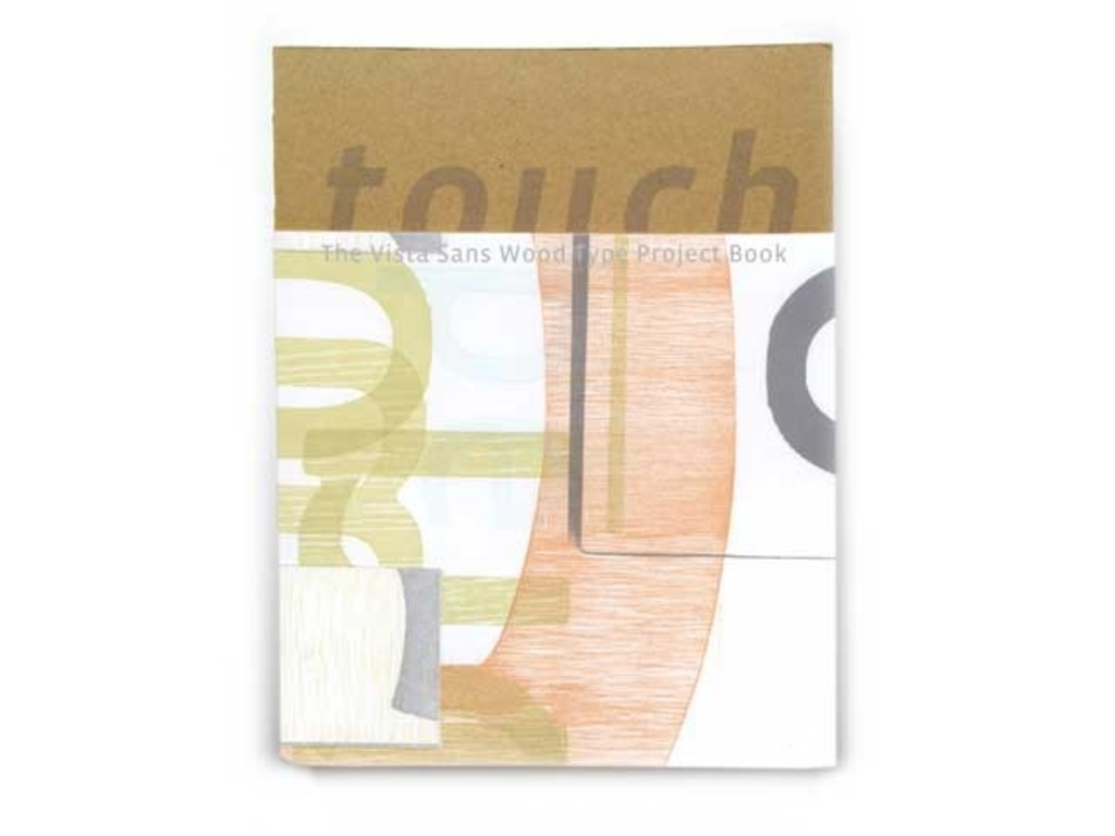 touch : the vista sans wood type project book's video poster