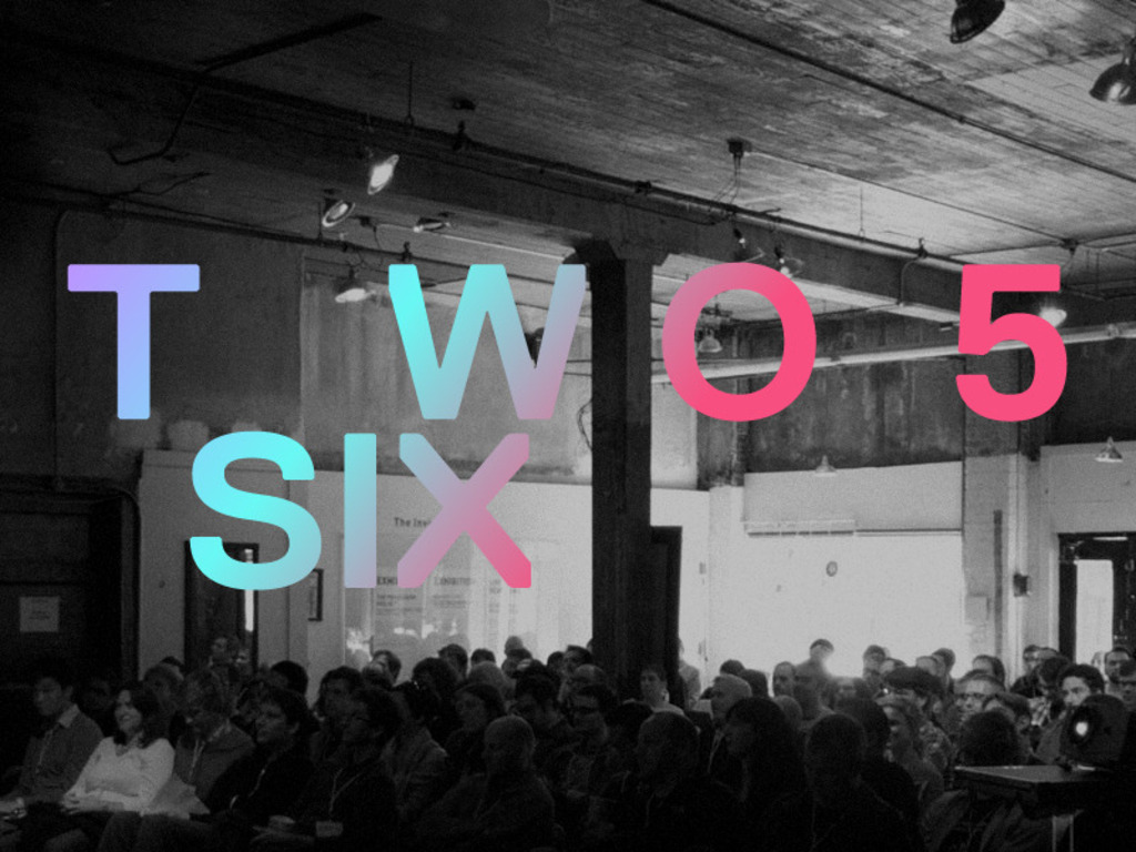 Twofivesix: A Videogame Arts + Culture Conference (Canceled)'s video poster