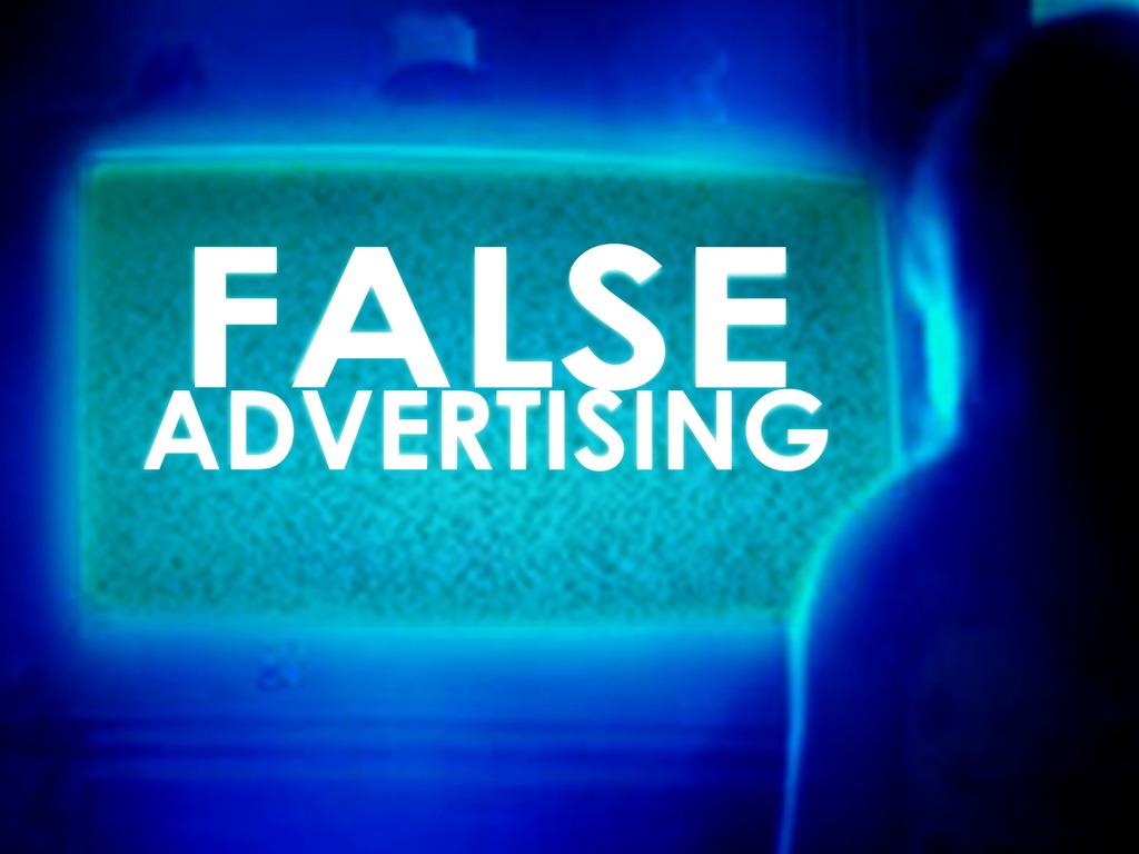 False Advertising's video poster