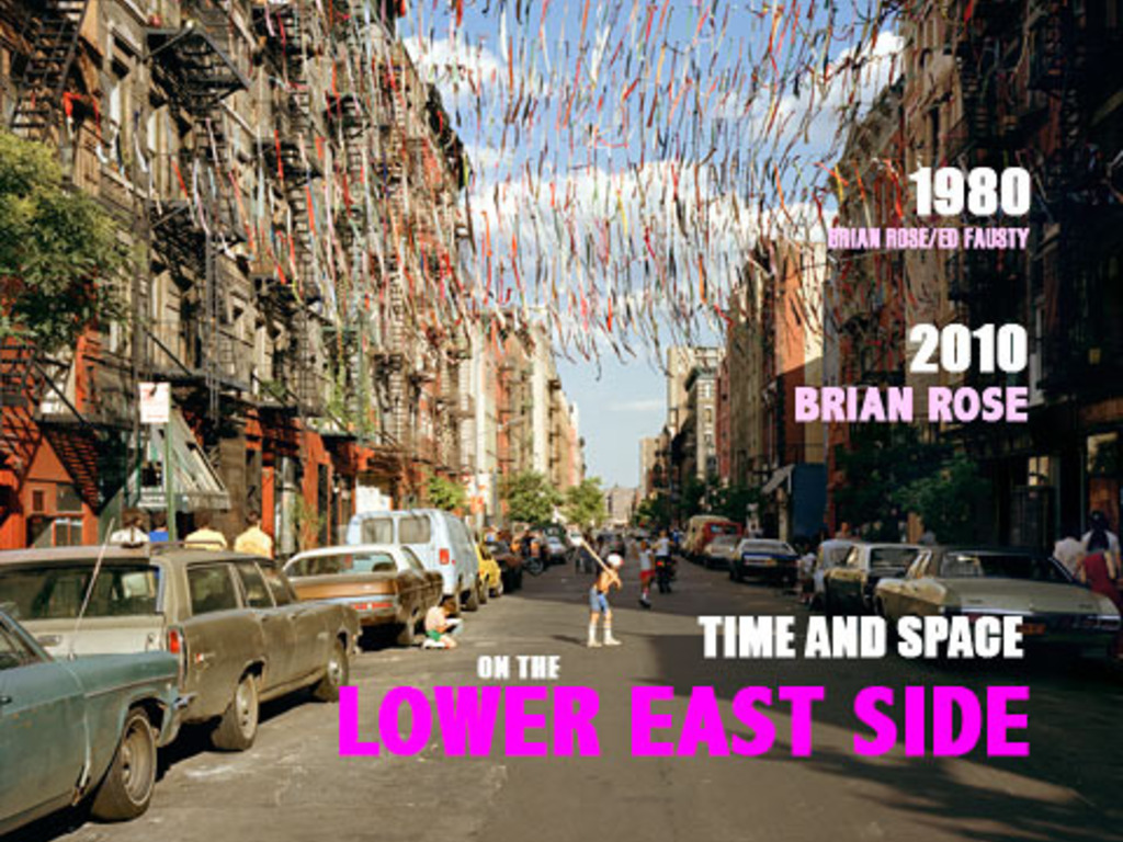 Time and Space on the Lower East Side's video poster