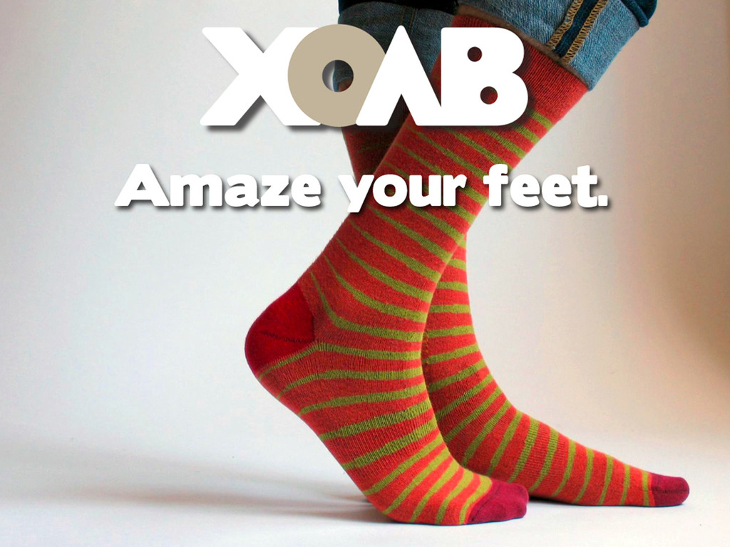 XOAB: Socks, done right.'s video poster