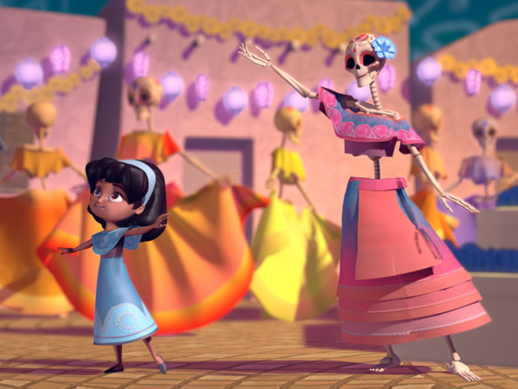 "Music for ""Day of the Dead"" Animated Film's video poster"