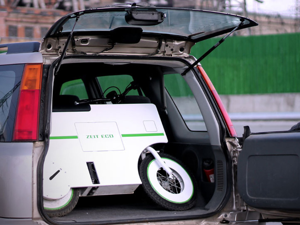 Zeit Eco - one of a kind multifunctional electric scooter.'s video poster