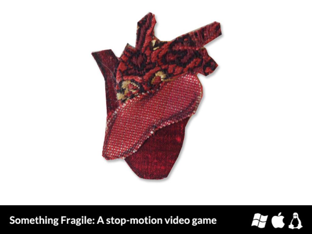 Something Fragile's video poster