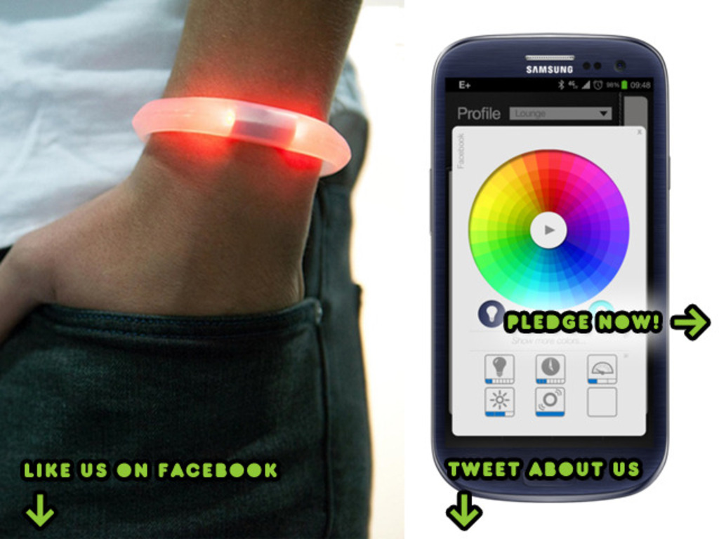 EMBRACE+, smart notification bracelet for iPhone and Android's video poster