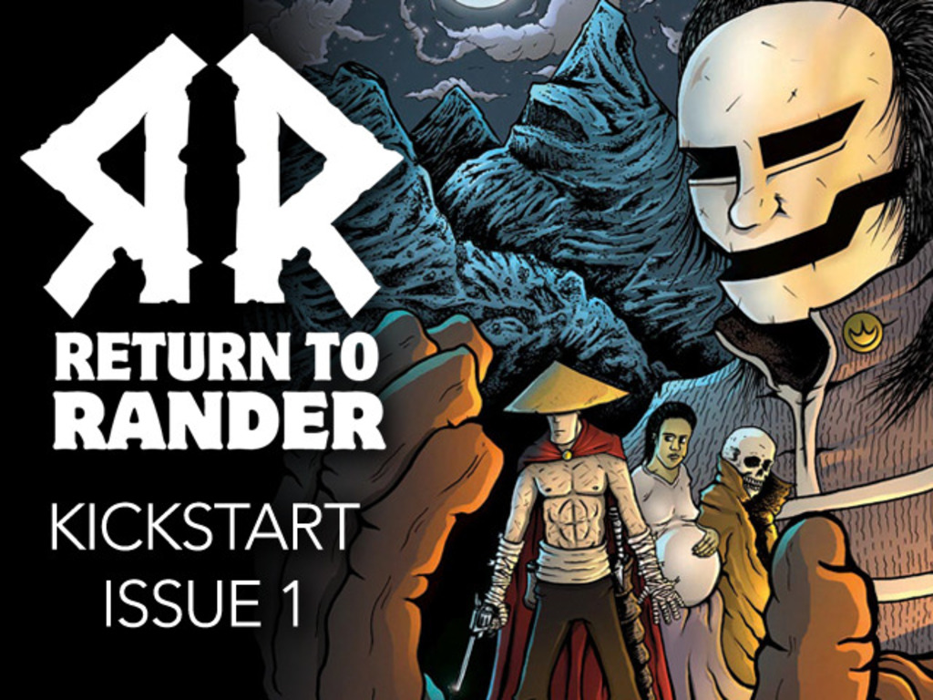 Return to Rander Issue #1's video poster