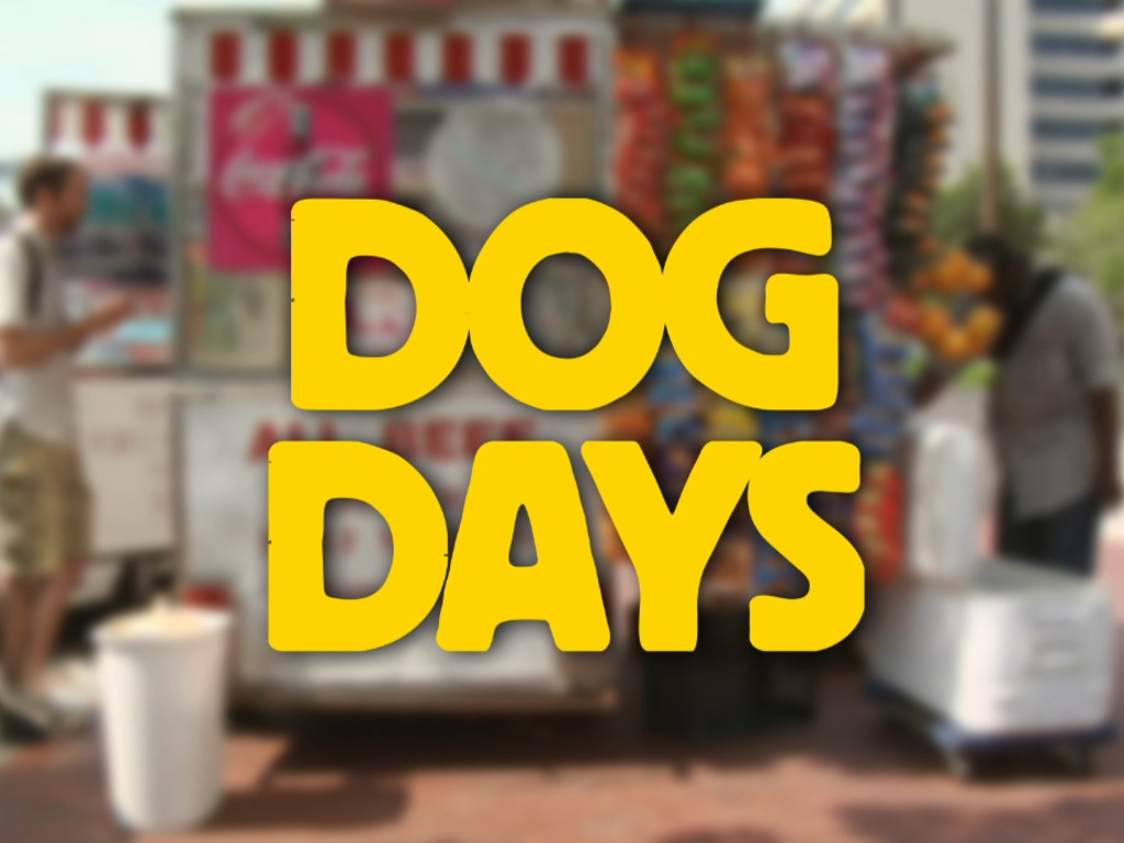 DOG DAYS - A Hotdog Film about the American Dream's video poster