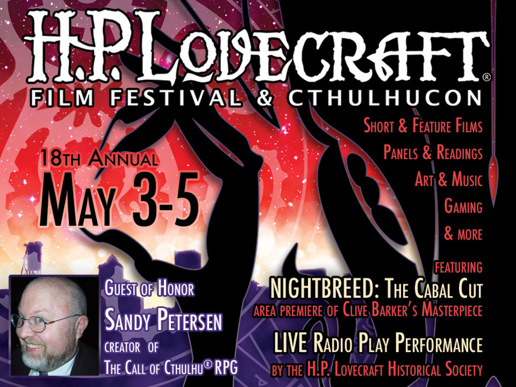 H.P. Lovecraft Film Festival & CthulhuCon (Portland, OR)'s video poster