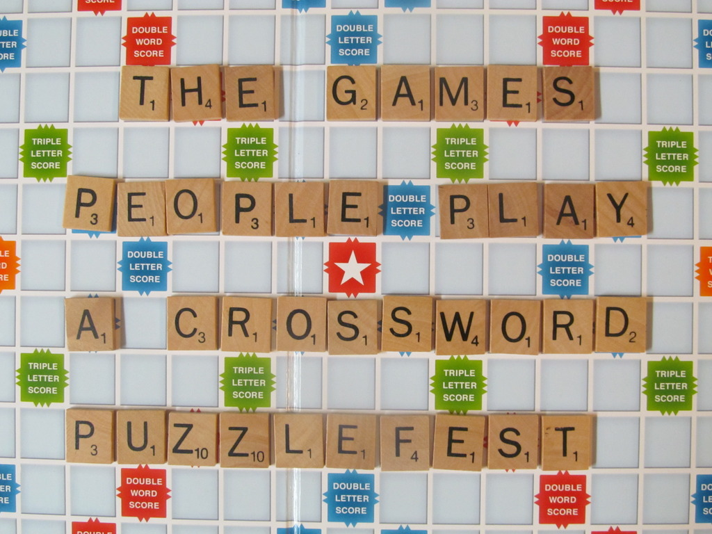 """""""The Games People Play"""" - a Crossword Puzzlefest!'s video poster"""