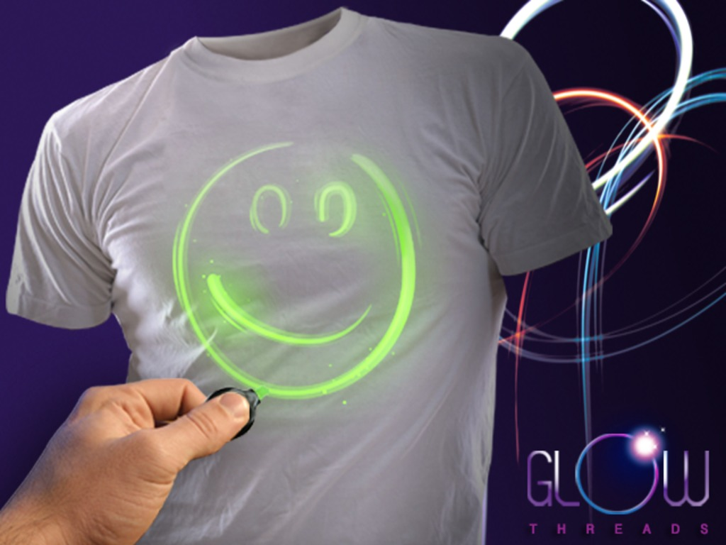 Glow Threads - Interactive Glow in the Dark Shirts's video poster