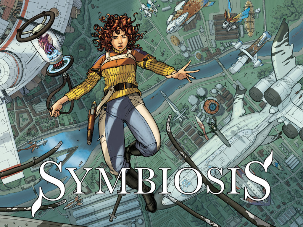 SYMBIOSIS: A Creative Commons art book's video poster