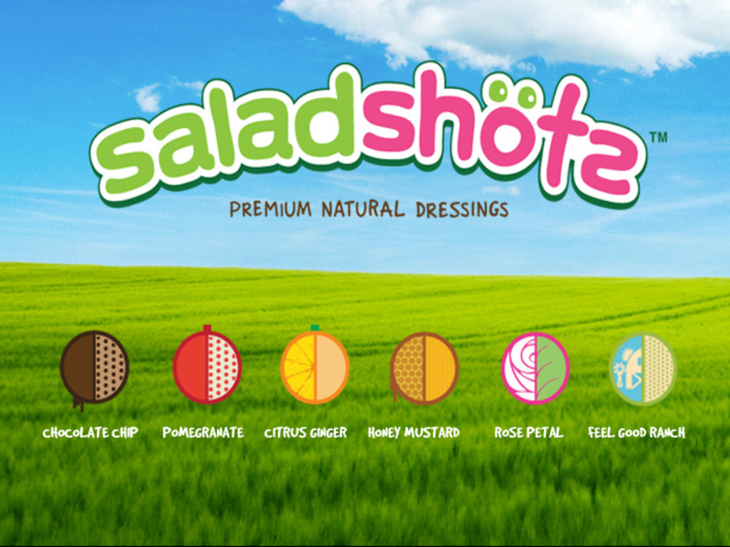 Saladshots -- Re-Inventing Salad Dressing's video poster