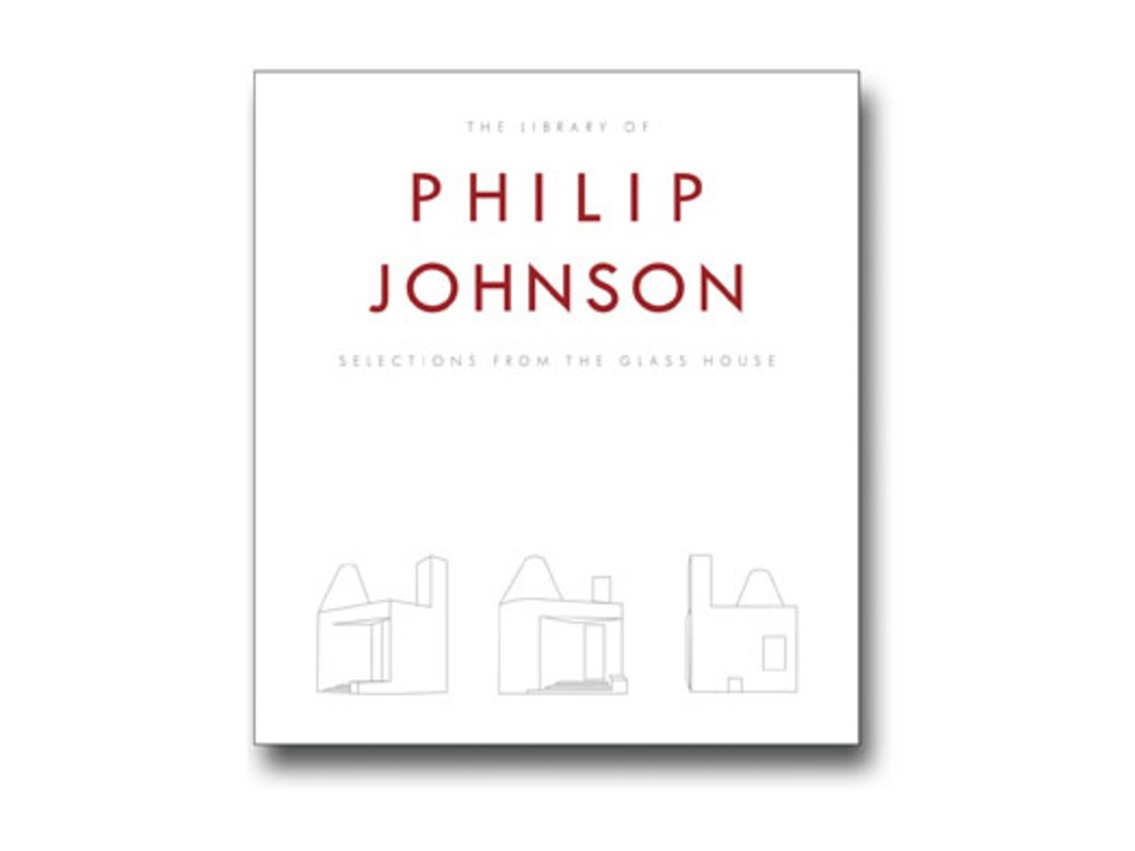 The Library of Philip Johnson's video poster