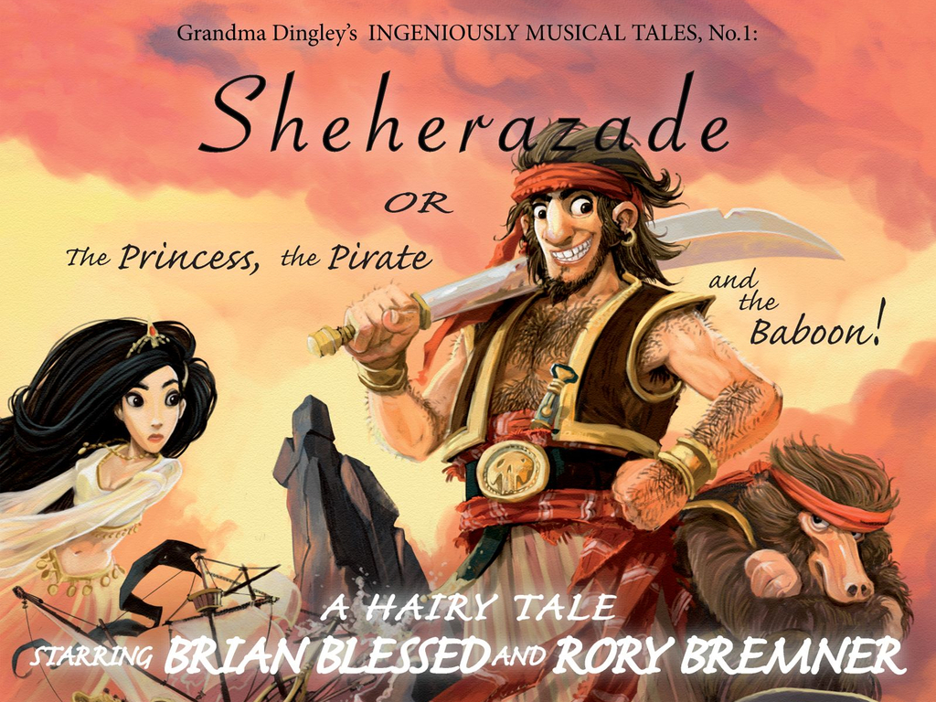BRIAN BLESSED & RORY BREMNER in SHEHERAZADE!'s video poster