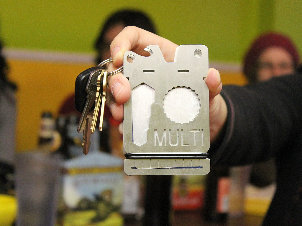 The MULTI. The First Multi-Tool Wallet!'s video poster