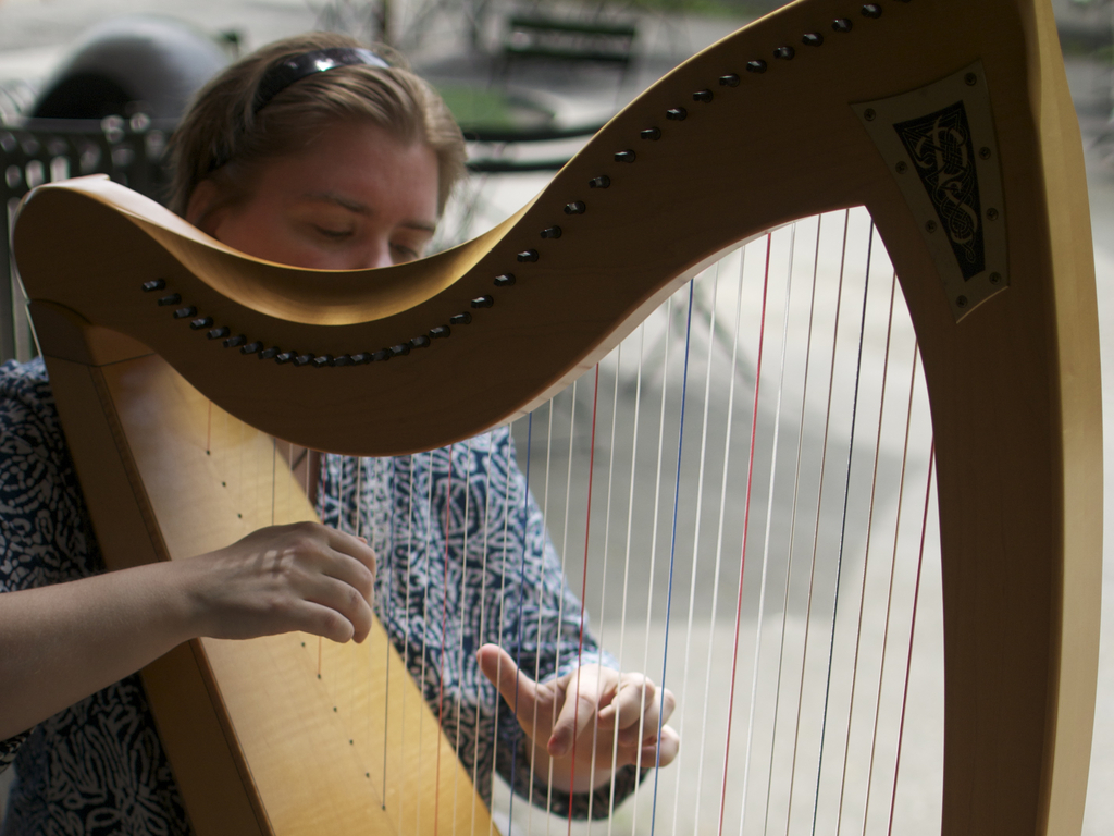 A Celtic Harp CD by Emily Groff's video poster