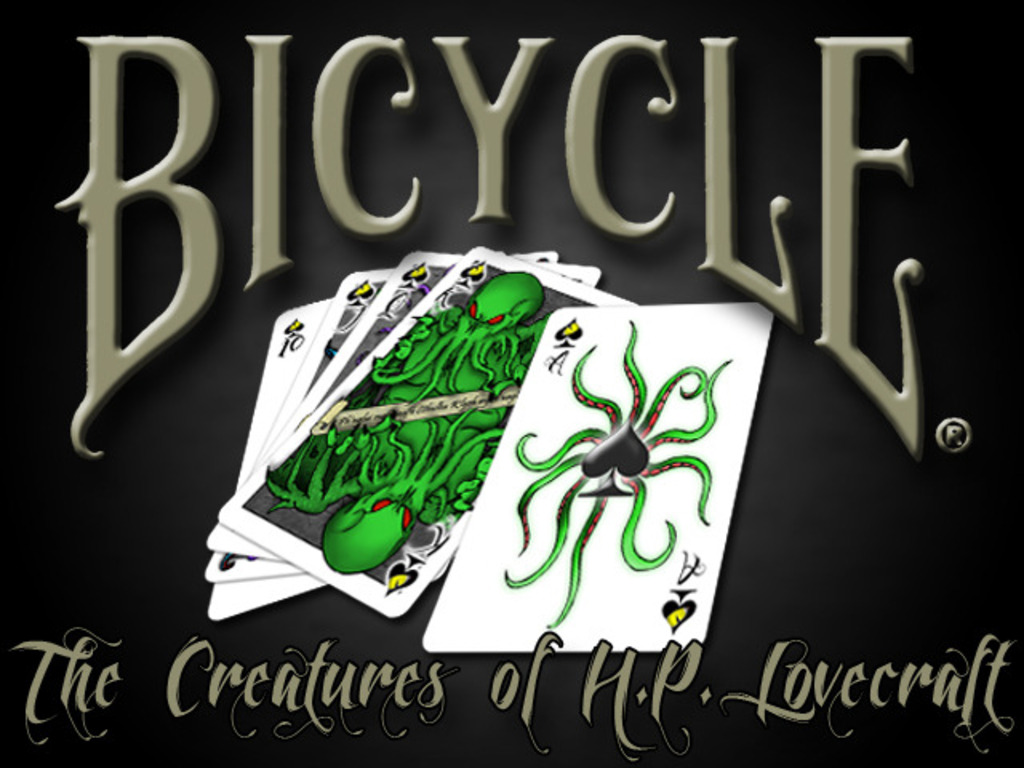 CTHULHU Bicycle® Playing Cards Deck - H.P. Lovecraft's video poster