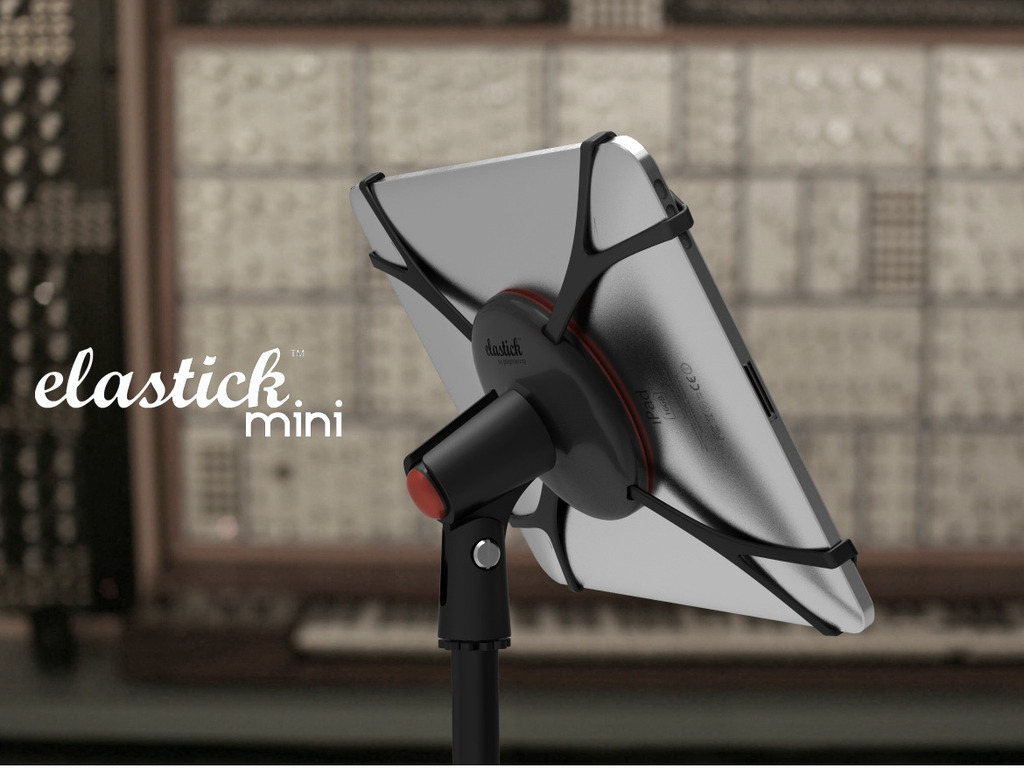 ELASTICK - a stand for IPADs, tablet pc's & music equipment's video poster